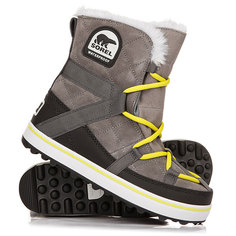 Ботинки зимние женские Sorel Glacy Explorer Shortie Quarry