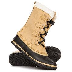 Ботинки зимние женские Sorel Caribou Slim Curry Black