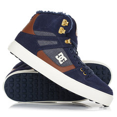 Кеды кроссовки зимние DC Shoes Spartan Hi Wnt Navy