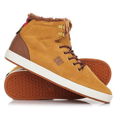 Кеды кроссовки зимние DC Shoes Crisis High Wnt Wheat/Dk Chocolate