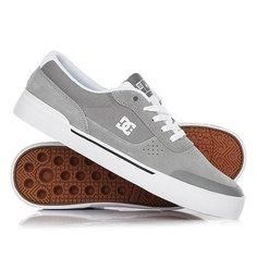 Кеды кроссовки низкие DC Shoes Switch Plus S Grey/White