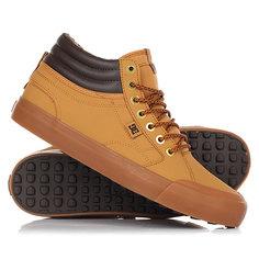 Кеды кроссовки зимние DC Shoes Evan Hi Wnt Wheat