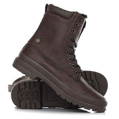 Ботинки зимние женские DC Shoes Amnesti Wnt Brown/Chocolate