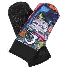Варежки сноубордические Quiksilver Method Quiky Print Gloves