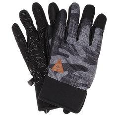 Перчатки Quiksilver Method Glove Black Grey Camokazi