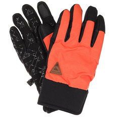 Перчатки Quiksilver Method Glove Mandarin Red