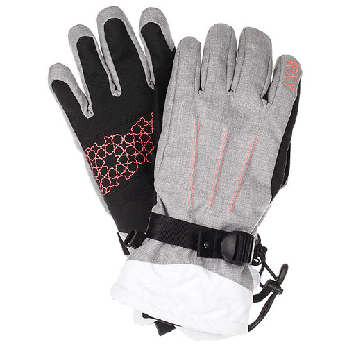 Перчатки женские Roxy Big Bear Gloves Heritage Heather