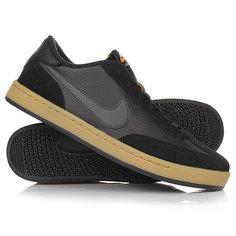 Кеды кроссовки низкие NikeSB FC Classic Anthracite/Black
