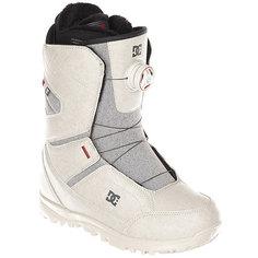 Ботинки для сноуборда женские DC Search Boax Silver