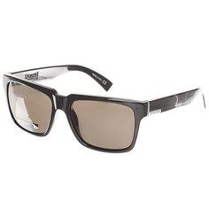 Очки Quiksilver Bruiser Shiny Black/Grey