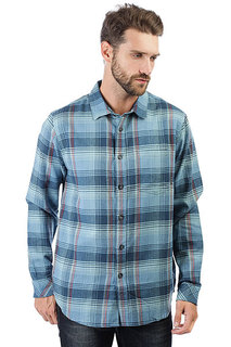 Рубашка в клетку Billabong Coastline Flannel Blue