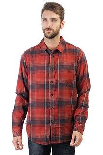 Рубашка в клетку Billabong Coastline Flannel Red