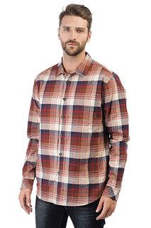 Рубашка в клетку Billabong Coastline Flannel Brown