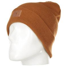 Шапка женская DC Label Hats Leather Brown