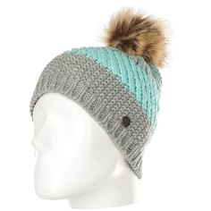 Шапка женская Roxy Hailey Beanie Hats Heritage Heather
