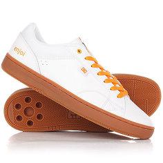 Кеды кроссовки низкие DC Astor X Enjoi White/Gum