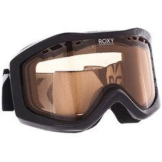 Маска для сноуборда женский Roxy Sunset True Black