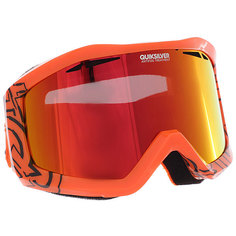 Маска для сноуборда Quiksilver Fenom Mandarin Red/Orange