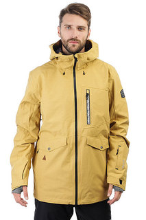 Куртка утепленная Quiksilver Black Alder Mustard Gold