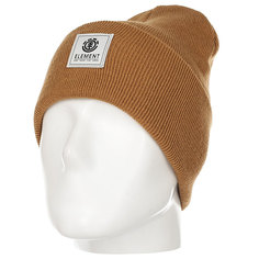 Шапка Element Dusk Beanie Bronco Brown