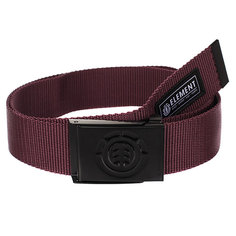 Ремень Element Beyond Belt Napa Red