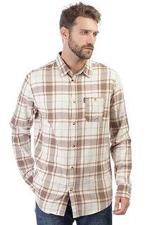 Рубашка в клетку Rip Curl Faded Check Shirt Bone White