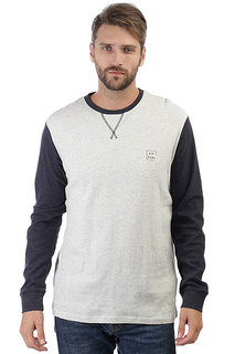 Толстовка свитшот Rip Curl Under Current Ls White Marle