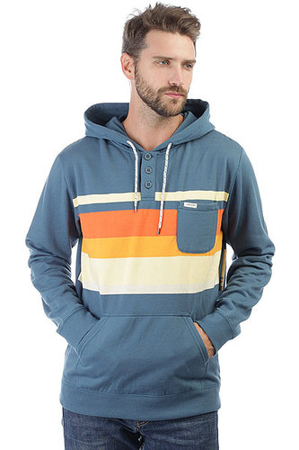 Толстовка кенгуру Rip Curl Yarny Fleece Indian Teal