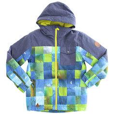 Куртка утепленная детская Quiksilver Miss Blo Blue Sulphur Icey Ch