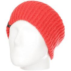 Шапка носок женская Billabong Mountain Tripe Bn Poppy Red