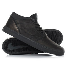Кеды кроссовки высокие Nike Sb Portmore II Solar Md P Black