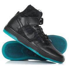 Кеды кроссовки высокие Nike Sb Zoom Dunk High Elite Black