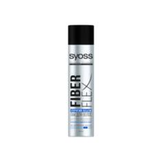 SYOSS Лак для волос экстрасильной фиксации FiberFlex Упругий Объем 400 мл