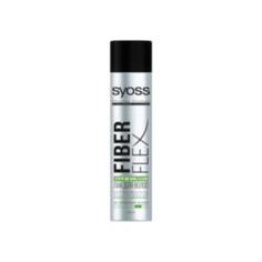 SYOSS Лак для волос экстрасильной фиксации FiberFlex Упругая Фиксация 400 мл