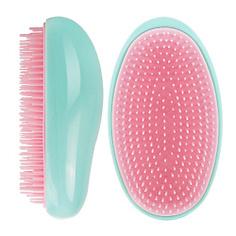 ЛЭТУАЛЬ Компактная расческа для волос зеленая 1 шт.