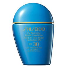 SHISEIDO SUNCARE Солнцезащитное жидкое тональное средство SPF 30 LI
