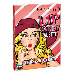 MISSLYN Палетка для макияжа губ LIP CANDY № 3 pink kiss edition