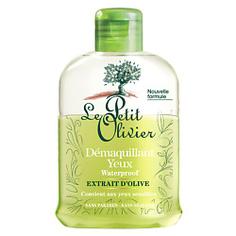 LE PETIT OLIVIER Средство бифазное для снятия водостойкого макияжа с экстрактом оливкого дерева 125 мл
