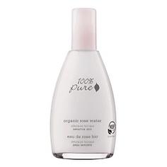 100% PURE Тоник органический эмульсионный Organic Rose Water Sensitive Skin Collection 177мл