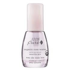 100% PURE Сыворотка органическая успокаивающая Organic Rose Water Sensitive Skin Collection 30 мл