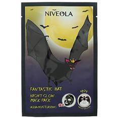 NIVEOLA Маска для лица ночная придающая сияние 27 г