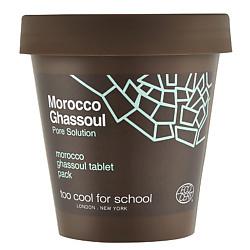 TOO COOL FOR SCHOOL Маска для лица спрессованная в таблетках MOROCCO GHASSOUL 100 г