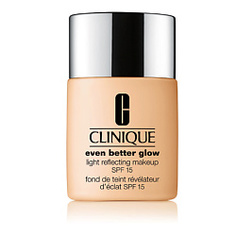 CLINIQUE Тональный крем, придающий сияние Even Better Glow Light Reflecting Makeup SPF 15 CN 70 Vanilla