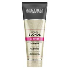JOHN FRIEDA Восстанавливающий шампунь для сильно поврежденных волос Sheer Blonde HI-IMPACT 250 мл