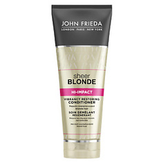 JOHN FRIEDA Восстанавливающий кондиционер для сильно поврежденных волос Sheer Blonde HI-IMPACT 250 мл