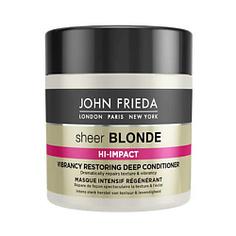 JOHN FRIEDA Маска для восстановления сильно поврежденных волос Sheer Blonde HI-IMPACT 150 мл