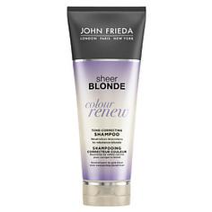 JOHN FRIEDA Шампунь для восстановления и поддержания оттенка осветленных волос Sheer Blonde СOLOUR RENEW 250 мл