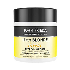 JOHN FRIEDA Маска для светлых волос Sheer Blonde Go Blonder 150 мл