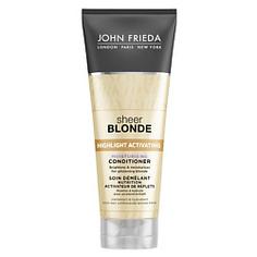 JOHN FRIEDA Увлажняющий активирующий кондиционер для светлых волос Sheer Blonde 250 мл