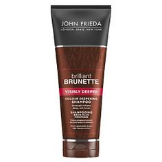 JOHN FRIEDA Шампунь для усиления насыщенности оттенка темных волос Brilliant Brunette VISIBLY DEEPER 250 мл